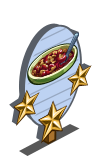 Rhubarb Crumble 3 Star Mastery Sign-icon