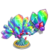 Rainbow Prism Bonsai Tree-icon