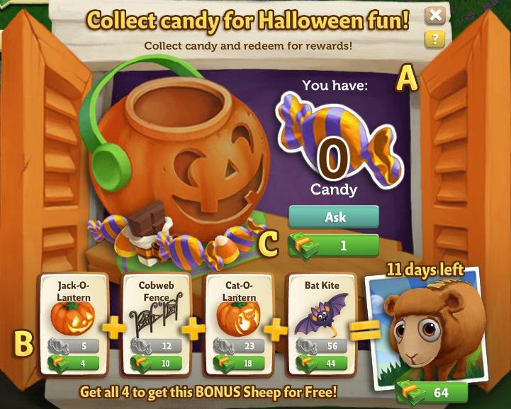 Candy Shack Menu