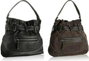 Cole-haan-kaylie-bucket-handbag-black-brown