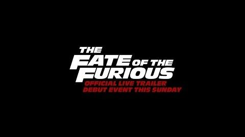 The Fate of the Furious - In Theaters April 14 - Official Trailer Tease (HD)