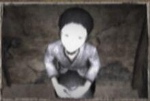 Boy hiding 1