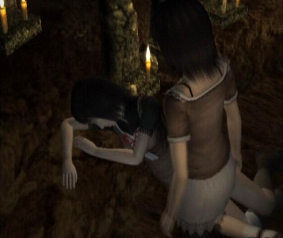 File:Mio and Mayu in Old tree.jpg