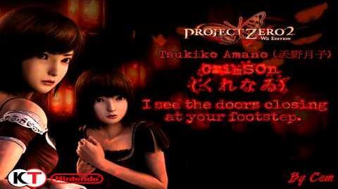 Tsukiko Amano - Crimson ''Kurenai'' (English Lyrics) HD 3D