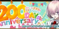 200 Days Anniversary