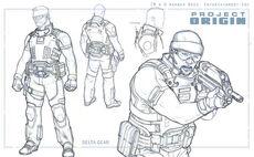Fear 2 project origin conceptart UDc7d
