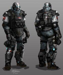 Military armacham heavy riot soldier-620x