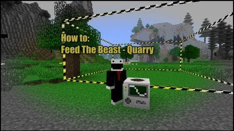 Minecraft Feed the Beast - How to Quarry-2