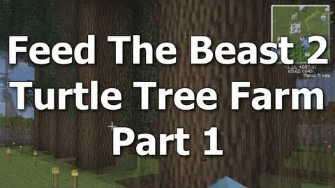 "FTB 02 - Turtle Tree Farm Pt 1 ""The Idea"" Feed The Beast MindCrack"