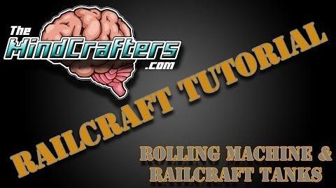 Railcraft Tutorial Rolling Machine & Railcraft Tanks
