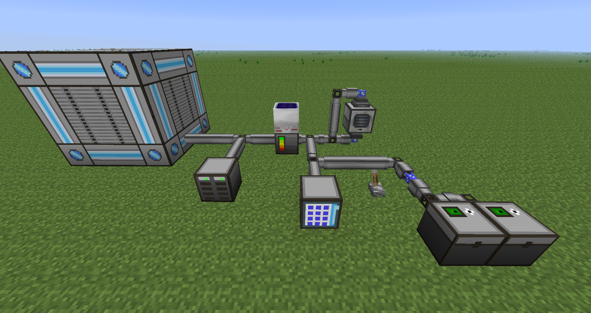Minecraft Applied Energistics  One Room Is Every Room