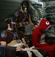 Skyrim costume cropped dragon