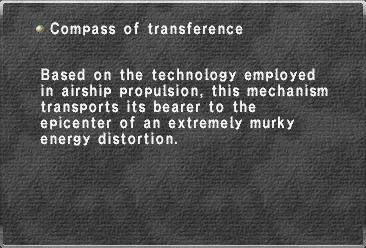Compass Of Transference