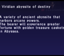 Viridian Abyssite of Destiny