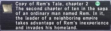 Rem's Tale, chapter 2