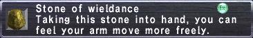 Wieldance stone