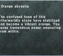 Orange Abyssite