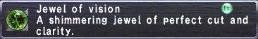 Jewel of vision