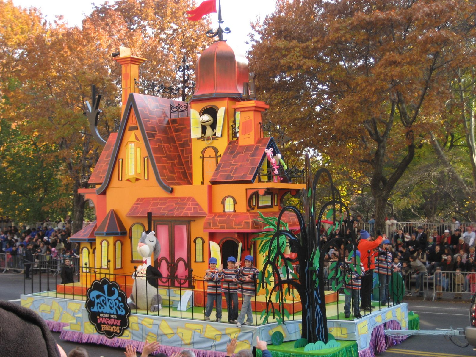 Imagination companions a foster s home for imaginary friends wiki - Macy S Thanksgiving Day Parade Float Imagination