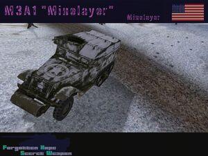 M3A1 Minenlayer