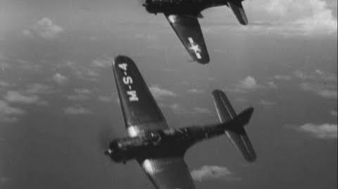 BOMBERS of WWII American Curtiss SB2C Helldiver (720p)