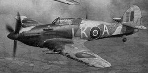 Hurricane Mk IIC photo