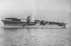 Japanese aircraft carrier zuikaku
