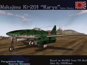 Ki-201 Karyu