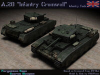 A28 Infantry Cromwell