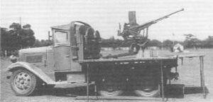 Isuzu Type 4 with Type 98 20 mm AA gunreal
