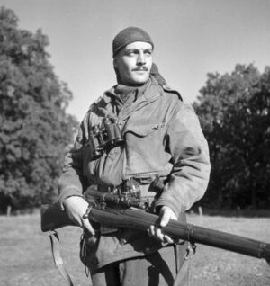 Lee-Enfield Sniper photo