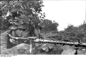 Bundesarchiv Bild 101I-721-0386-15, Frankreich, Soldaten mit MG 34