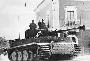 Bundesarchiv Bild 183-J14953, Sizilien, Panzer VI (Tiger I)