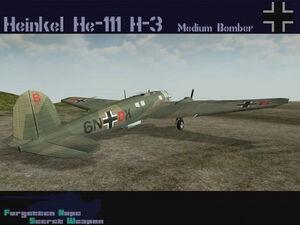 Heinkel He 111 H-3