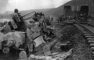 US Army M16 MGMC AA Half-track
