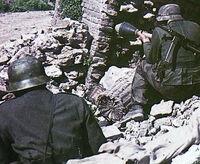 Panzerfaust 100 battle