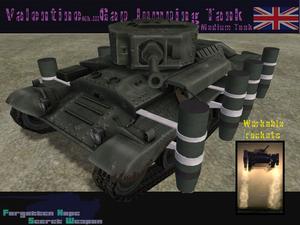 Valentine Mk III Gap Jumping Tank