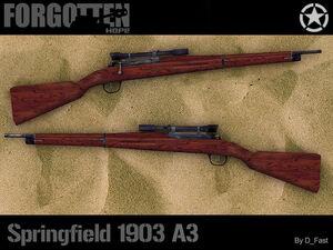 Springfield 1903 Sniper