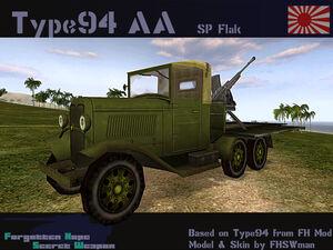 Type 94 Truck 20 mm AA