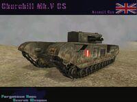Churchill Mk.V CS