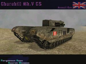 Churchill Mk.V CS