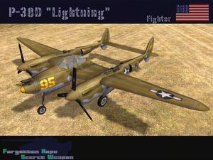 P-38D