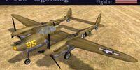 "Lockheed P-38 ""Lightning"""