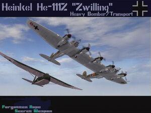 """He 111Z """"Zwilling"""""""