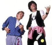 Bill & ted characters