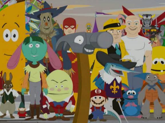 South Park Look Alikes