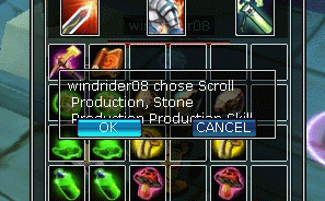 Skill production accept