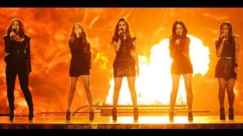 """Fifth Harmony """"Stronger"""" - Live Week 5 - The X Factor USA 2012"""