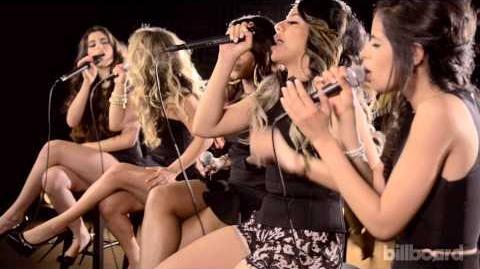 "Fifth Harmony ""Bo$$"" (BOSS) LIVE Billboard Studio Session"