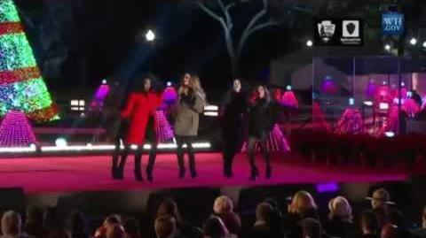 Fifth Harmony - All I Want For Christmas Is You - The 2014 National Christmas Tree Lighting